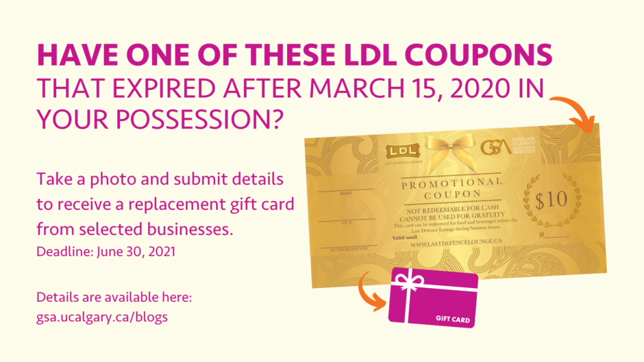 Information about LDL coupon claim program